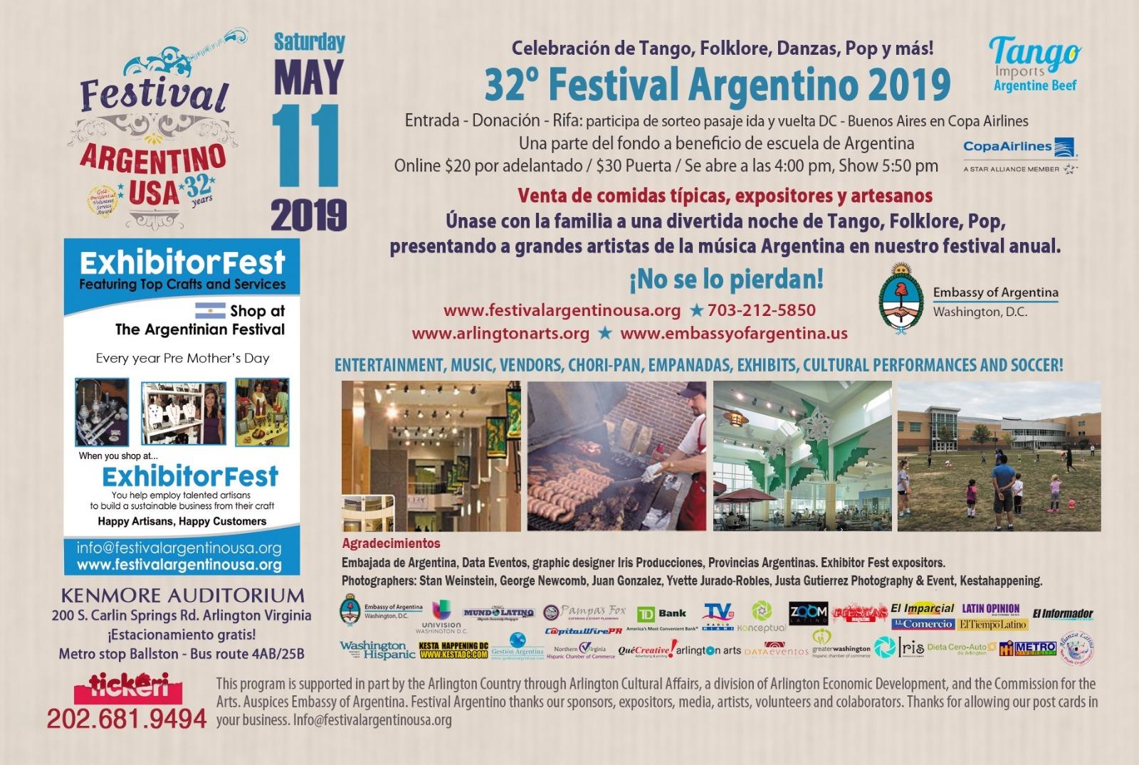 Festival Argentino USA » Tango, dances, folcklore, pop and